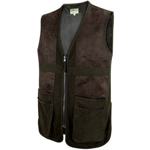 Hoggs of Fife Struther Shooting Vest - Dark Green