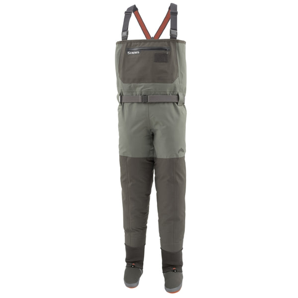 Simms Freestone Breathable Stockingfoot Waders - Dark Gunmetal