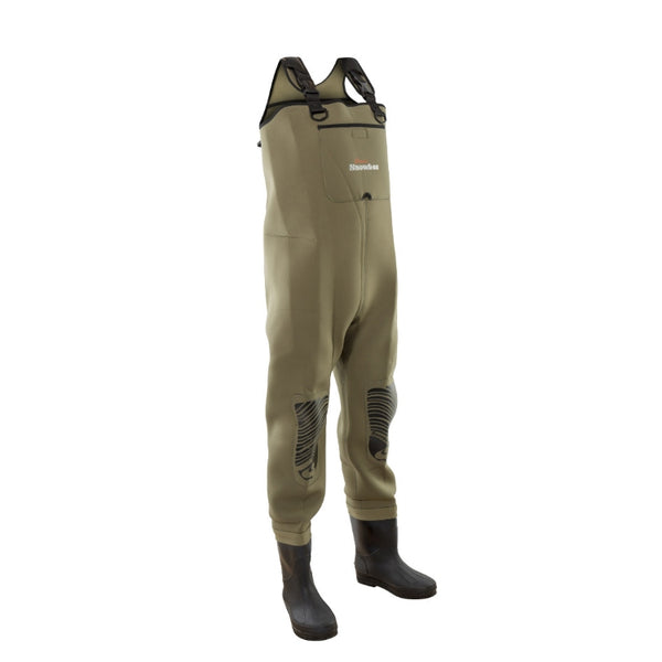 Snowbee 4mm Neoprene Chest Waders - Studded Felt Sole