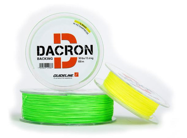 Guideline Coloured Braided Dacron Backing