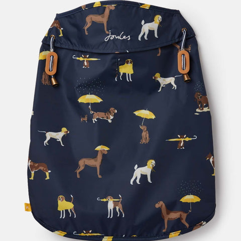 Joules Water Resistant Dog Coat - Navy