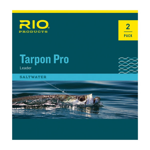 Rio Tarpon Pro Twin Pack Tapered Leaders
