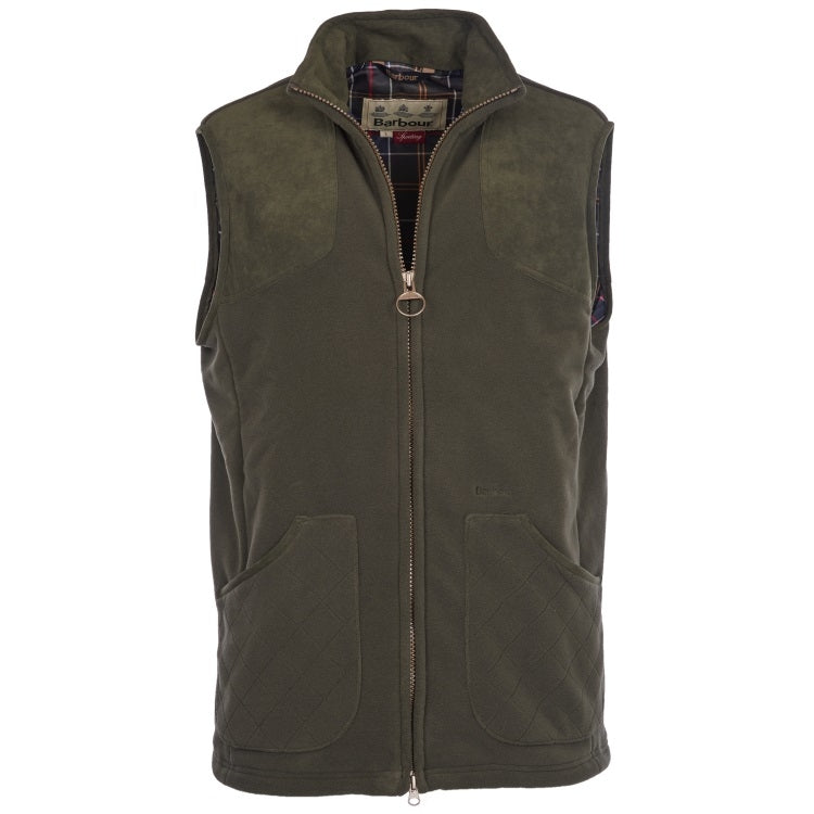 Barbour Dunmoor Fleece Gilet - Olive