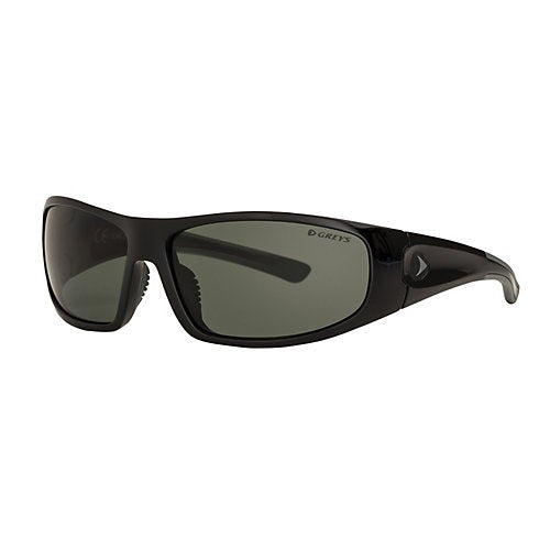 Greys G1 Sunglasses - Gloss Black Frame Green/Grey Lens