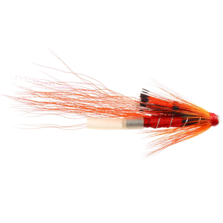 Allys Shrimp Orange Copper Tube Fly