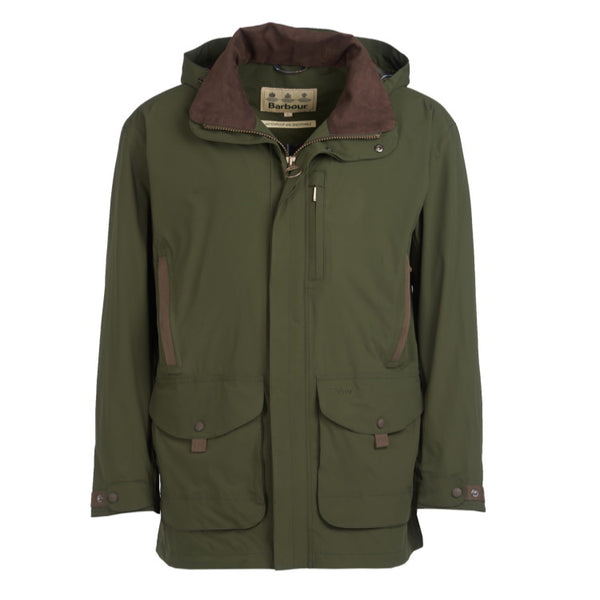 Barbour Berwick Waterproof Jacket - Olive