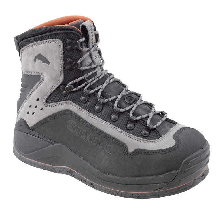 Simms G3 Guide Felt Sole Wading Boots - Steel Grey