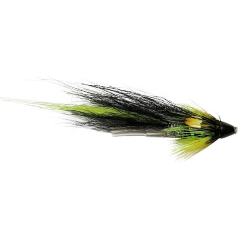 Black & Yellow Plastic Tube Conehead Flies
