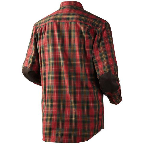 Seeland Pilton Shirt - Spicy Red Check
