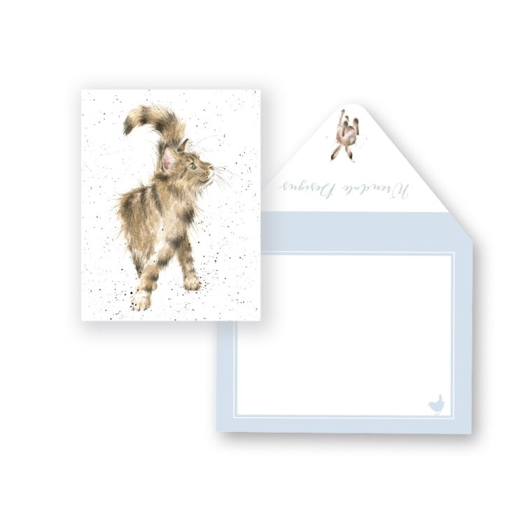 Wrendale Designs Just Purrrfect Miniature Card