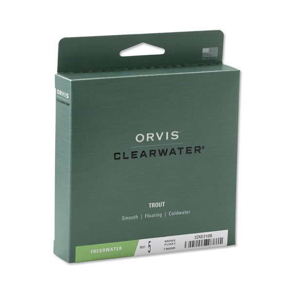 Orvis Clearwater Fly Line - Moss Green