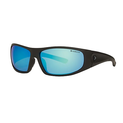 Greys G1 Sunglasses - Matt Carbon Frame Blue Mirror