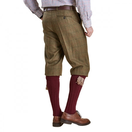 Barbour Moorhen Tweed Breeks - Olive/Brown Check