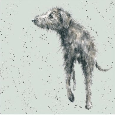 Wrendale Designs Lurcher Card