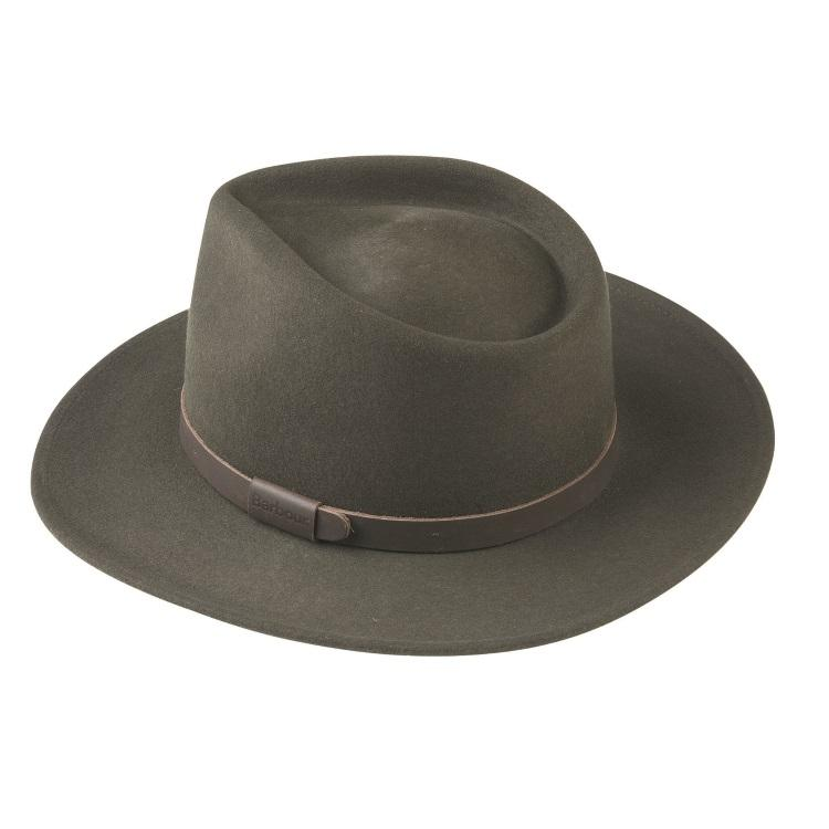 Barbour Crushable Bushman Hat