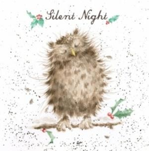 Wrendale Designs Silent Night Christmas Card