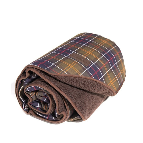 Barbour Dog Blanket - Classic/Brown-Large