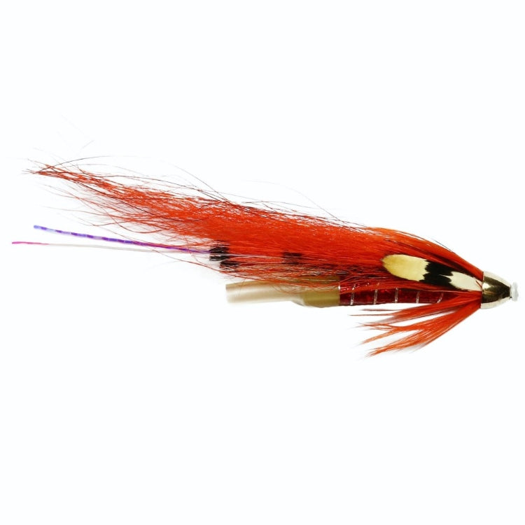 Allys Shrimp Plastic Tube Conehead Flies