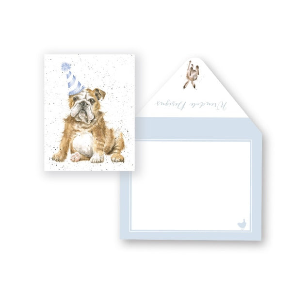Wrendale Designs Smile Miniature Card