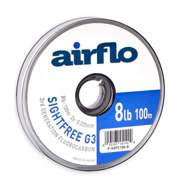 Airflo G3 Sightfree Fluorocarbon 100m