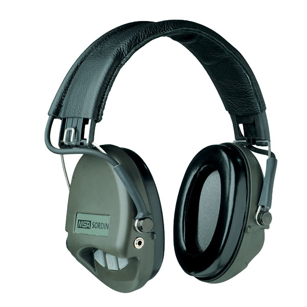 Sordin Supreme Basic Electronic Ear Defenders