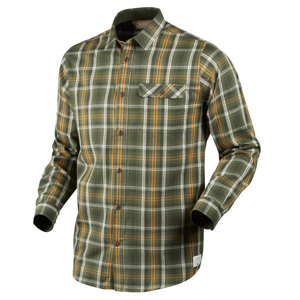 Seeland Gibson Shirt - Forest Green Check