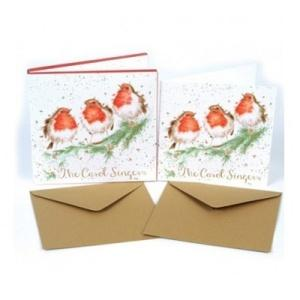 Wrendale Designs The Carol Singers Luxury Christmas Card Box Set of 8