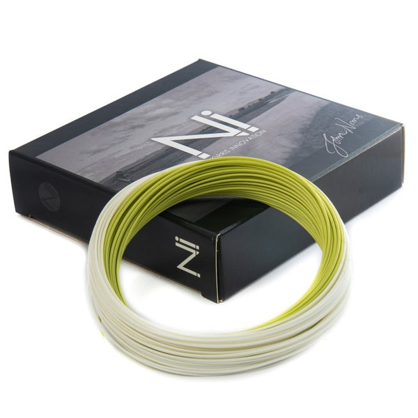 John Norris Ni1 Presentation Stealth Floating Fly Line - White/Olive
