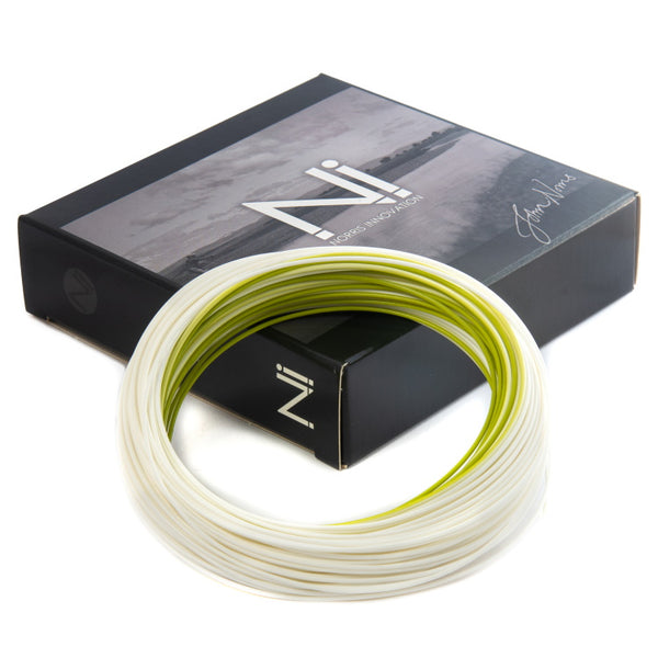 John Norris Ni1 Extreme Distance 3ft Midge Tip Fly Line - White/Green