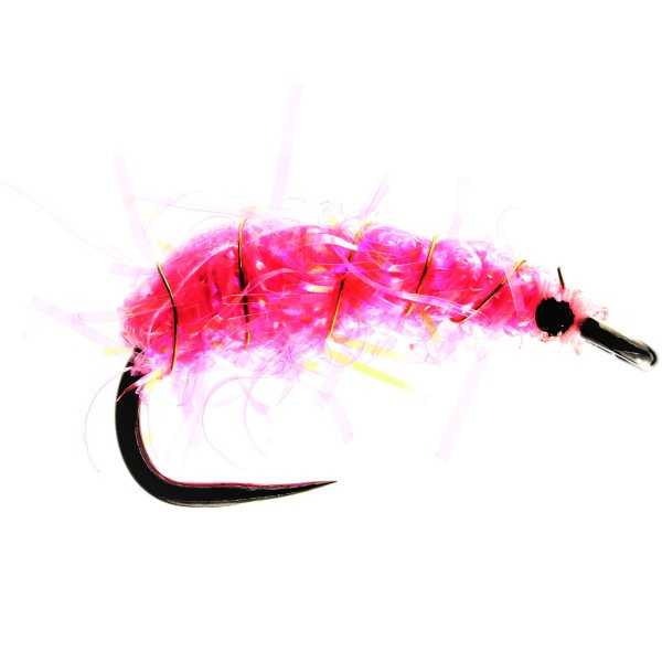 Pink Shrimper Nymph Flies
