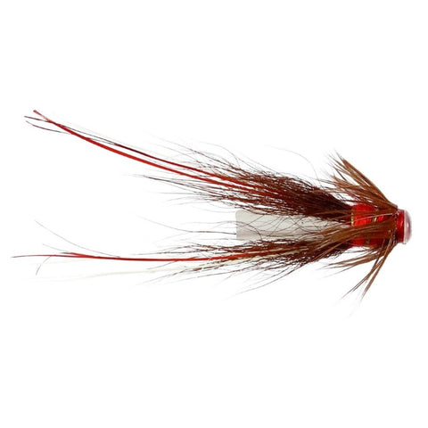 Red Francis Hitch Tube Flies