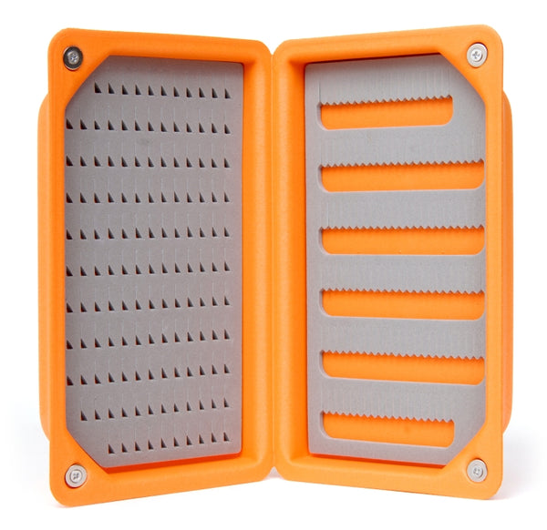 Guideline Ultralight Foam Fly Box - Orange - Size Large