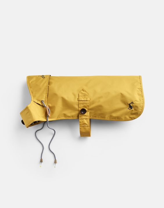 Joules Water Resistant Dog Coat - Mustard