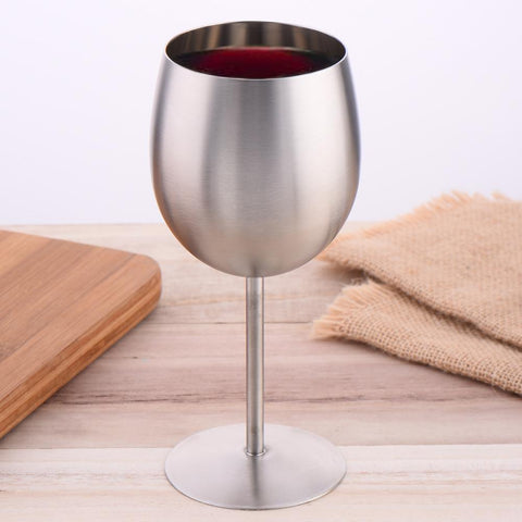 VERRE à vin DESIGN / Inox WINE  Glass