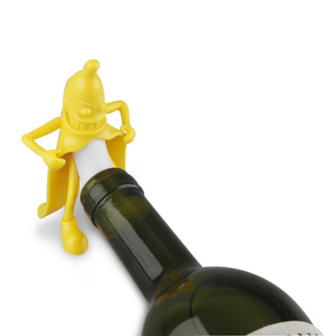 BANANA SPLIT Funny wine stopper