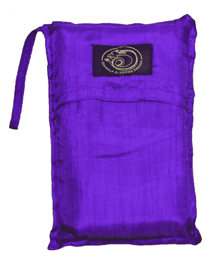 purple sink sleeping bag