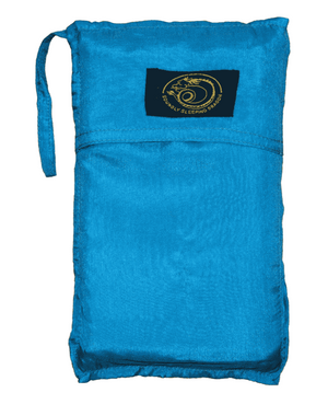 turgoise silk sleeping bag