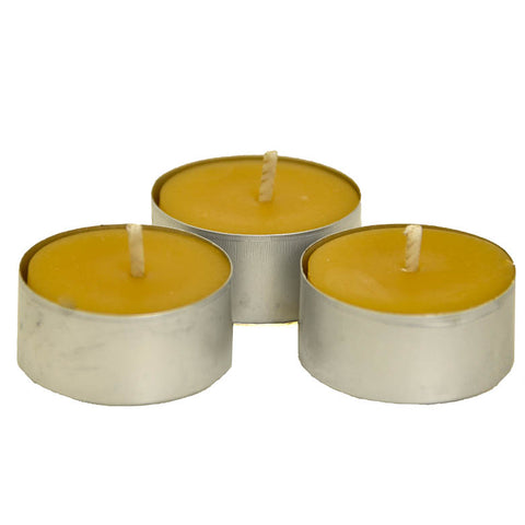 BEESWAX CANDLE - Tea Lights - 10 pack