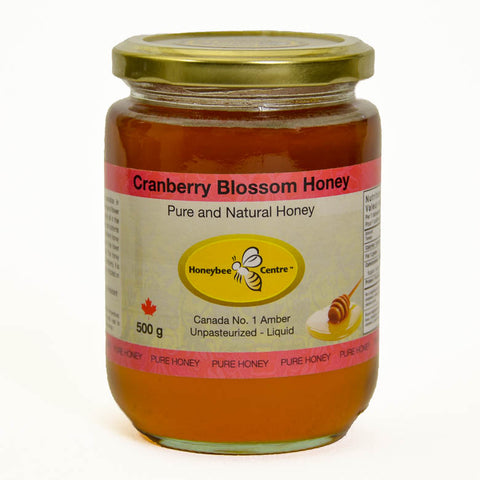Cranberry Blossom Honey
