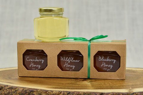 Honey Gift Pack - 3 x 140g jars