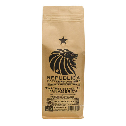 TRES ESTRELLAS PANAMERICA - Medium Roast Blend