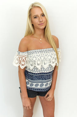 Sweet Nautical Top