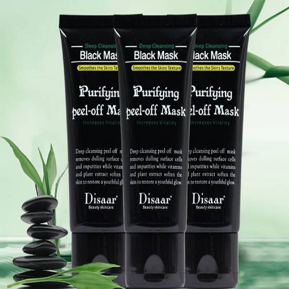 Mask & Peel, Blackhead Remover, Black Head Masque, Anti Acne Point Noir Comédon, Charbon, anti-Points noirs Masque,