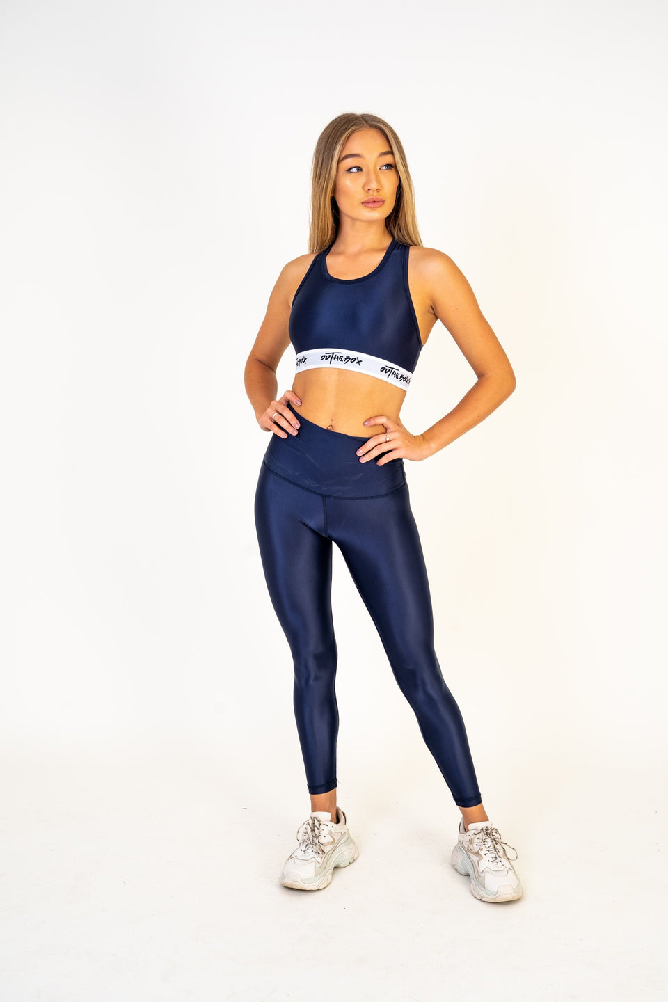 Navy Flex Leggings