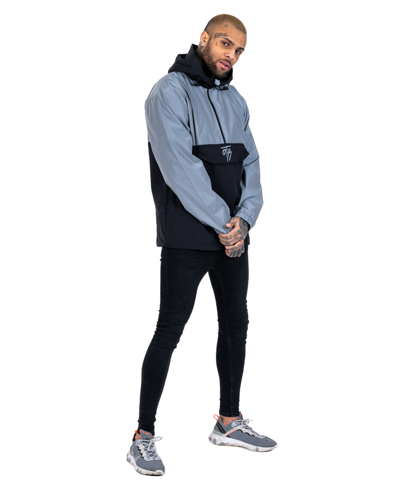 Reflective overhead Windbreaker