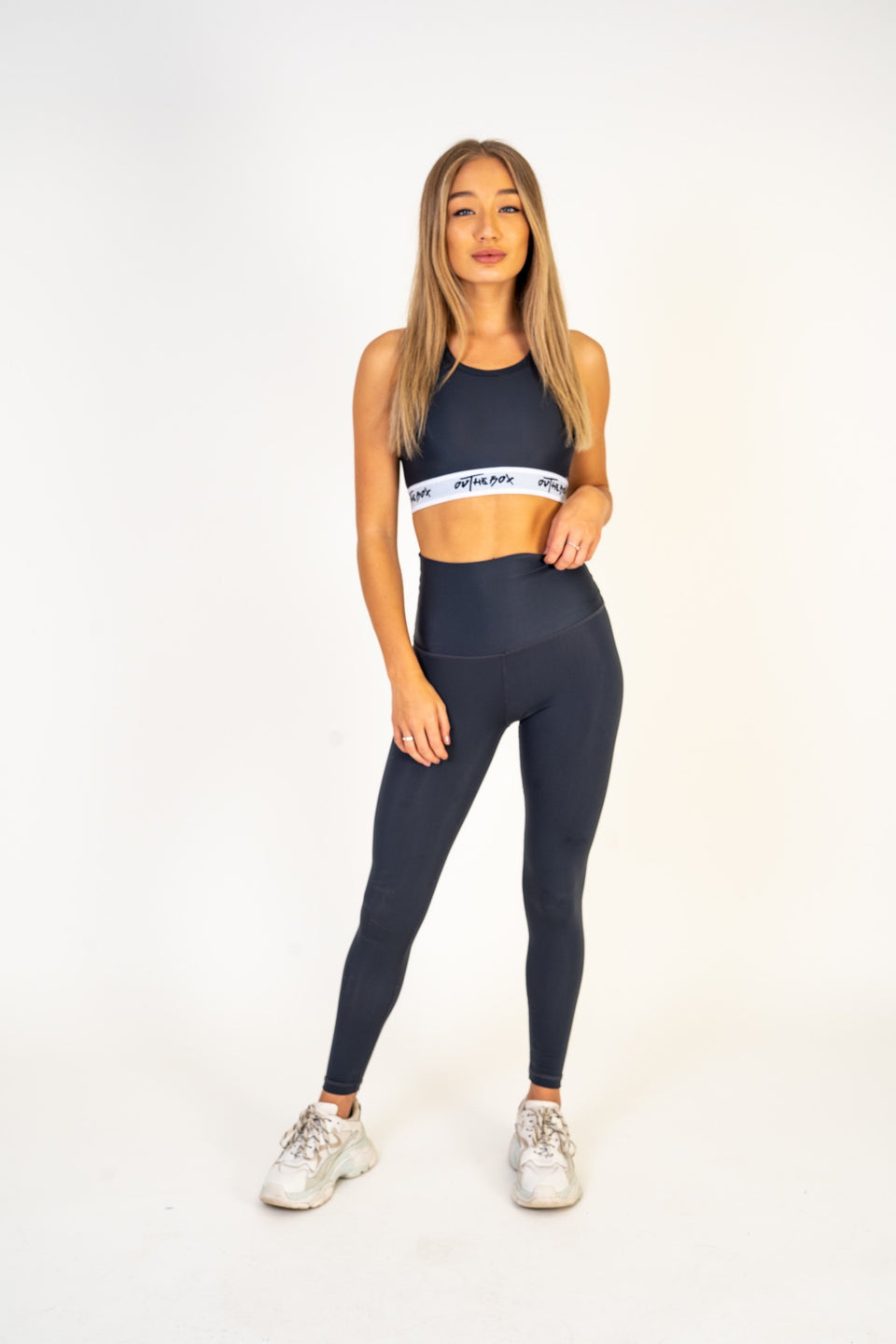 Grey Flex Leggings