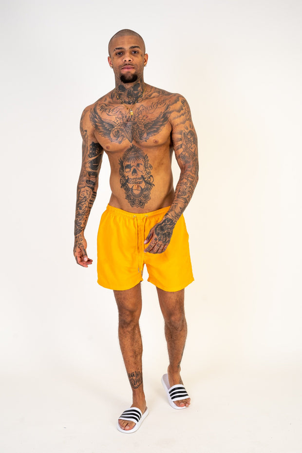 Canary Yellow Swim Shorts