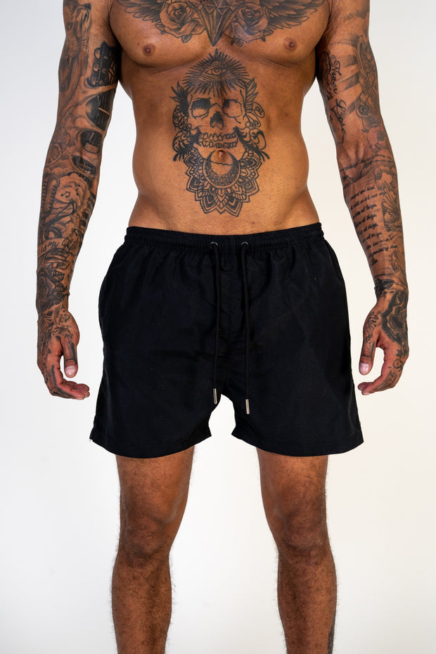 Ferrari Black Swim Shorts
