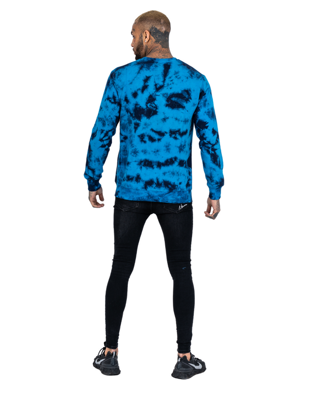 Blue Element Tie Dye Crew Neck