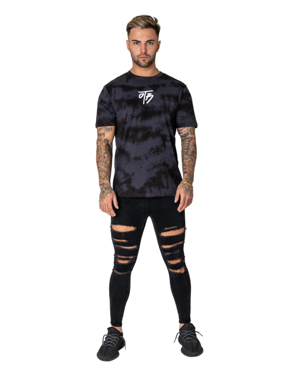 Black Element Tie Dye Tee